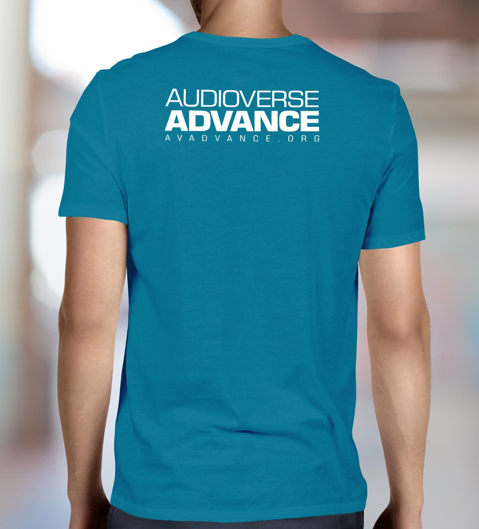 Audioverse Advance Men S T Shirt Audioverse Store
